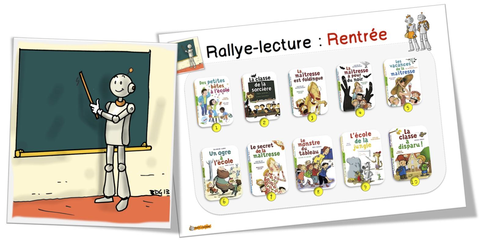 Rallye-Lecture : Rentrée Ce1-Ce2 | Bout De Gomme à Le Petit Ogre Qui Voulait Apprendre À Lire