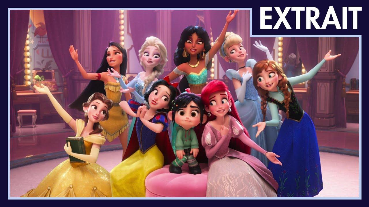 Ralph 2.0 - Extrait : C'est Vraiment Une Princesse ! I Disney encequiconcerne Coloriage Ralph La Casse