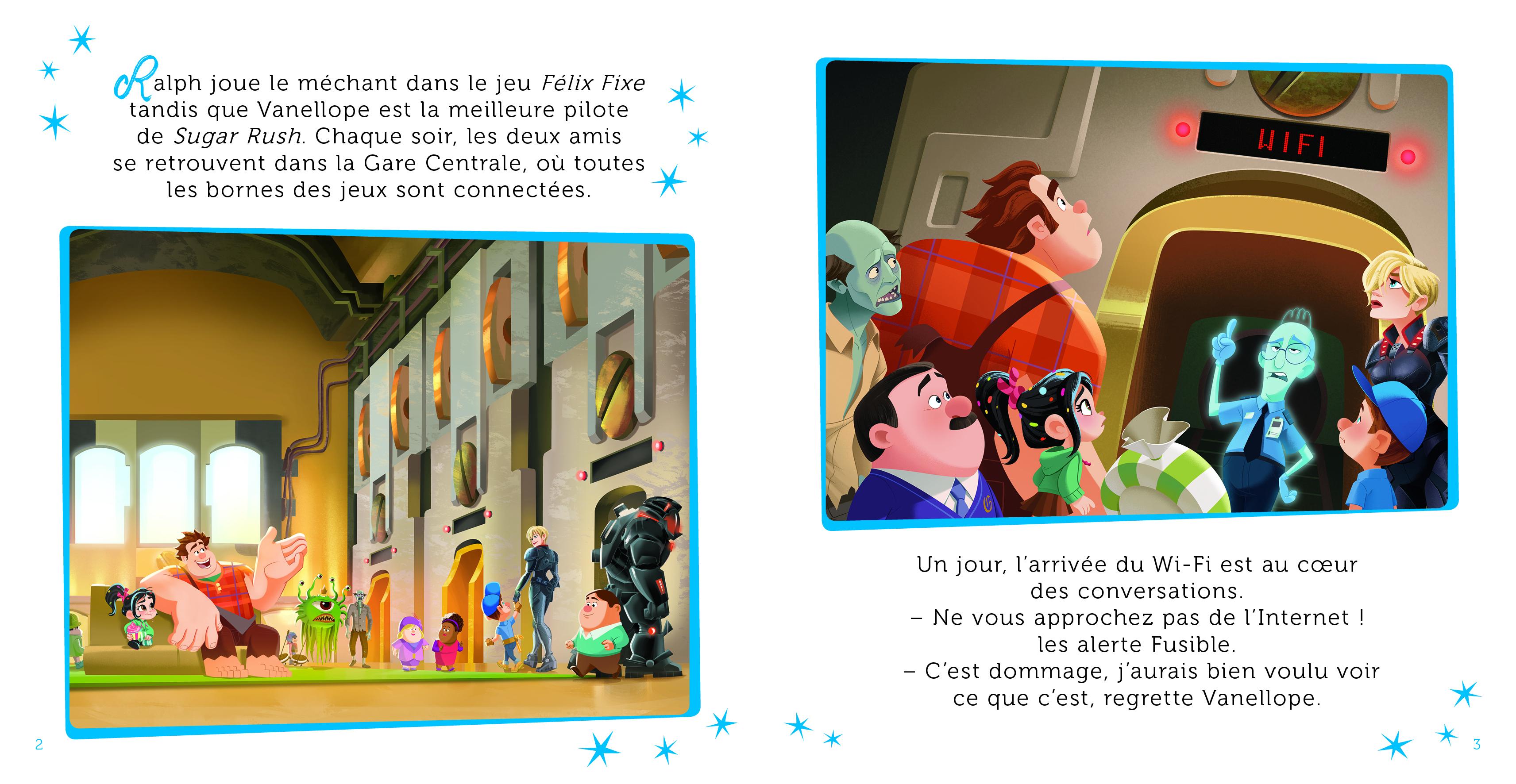 Ralph 2.0 - Mon Histoire Du Soir - L'histoire Du Film - Disney pour Coloriage Ralph La Casse