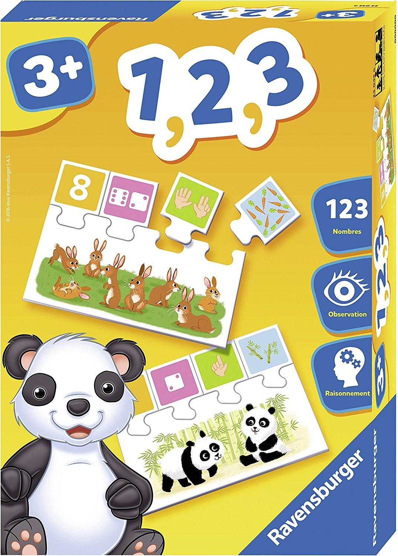 Ravensburger Jeu Educatif 1 2 3 - 3 Ans + - Age - Jouets à Jeux Educatif 3 Ans
