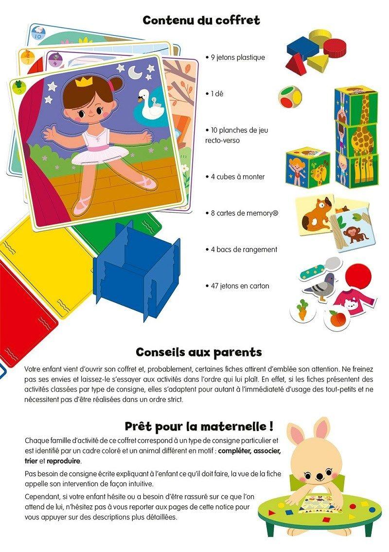 Ravensburger Prêt Pour La Maternelle ! (Jeu Educatif serapportantà Jeux Enfant Maternelle
