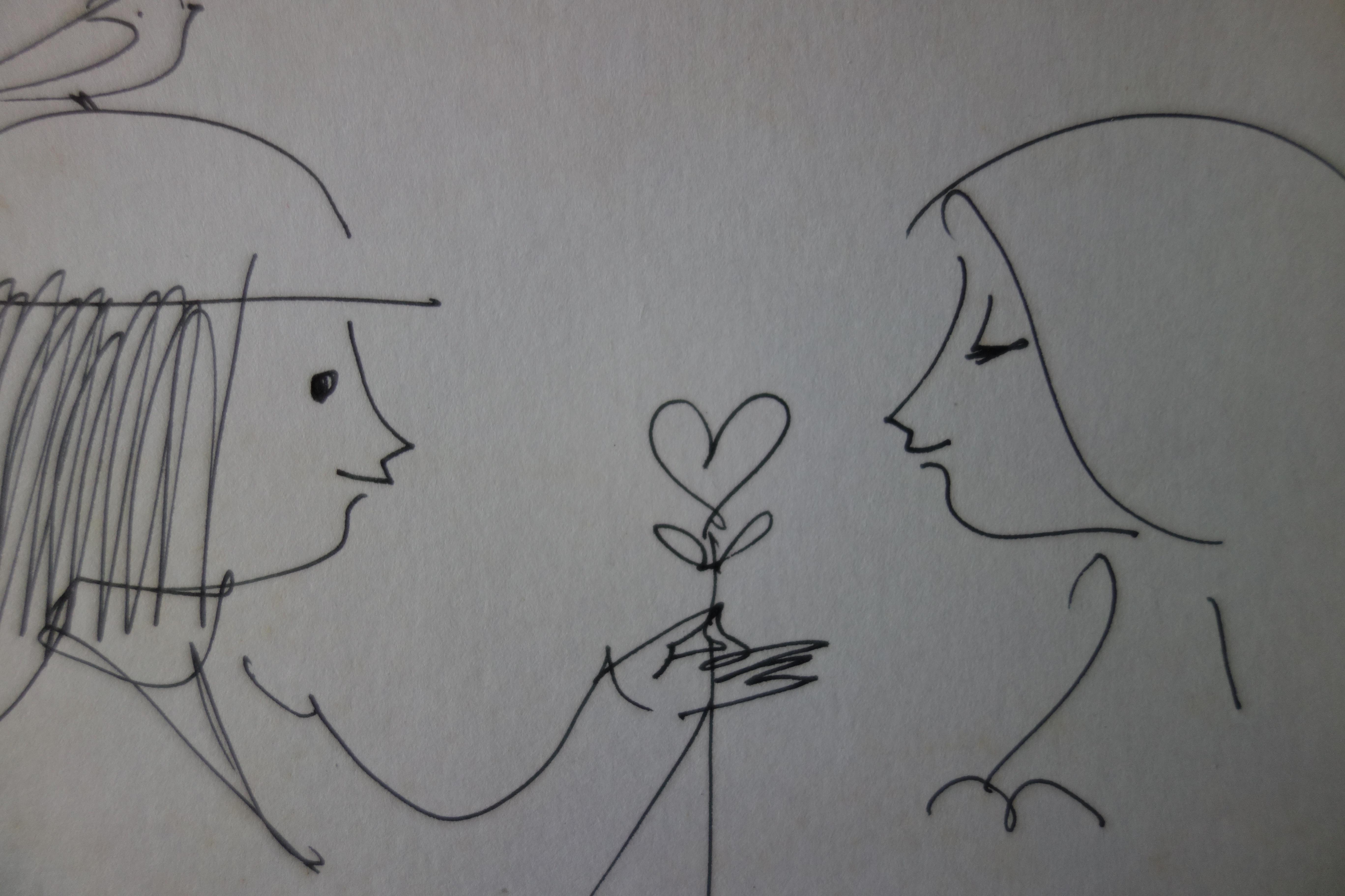 Raymond Peynet - Les Amoureux De La St Valentin, Dessin concernant Dessin Pour La Saint Valentin