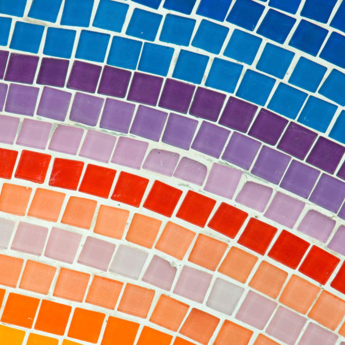 Réaliser Une Mosaïque En Vidéo : Femme Actuelle Le Mag concernant Support Pour Mosaique
