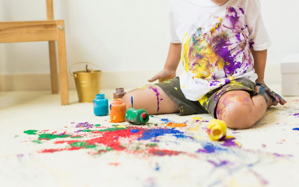 Réaliser Une Salle De Jeux : 6 Étapes Faciles Et Amusantes serapportantà Tableau De Peinture Pour Enfant