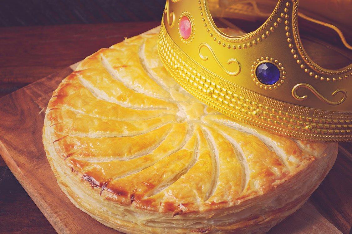 Recette Galette Des Rois Amande, Pommes Et Speculoos concernant Image De Galette Des Rois