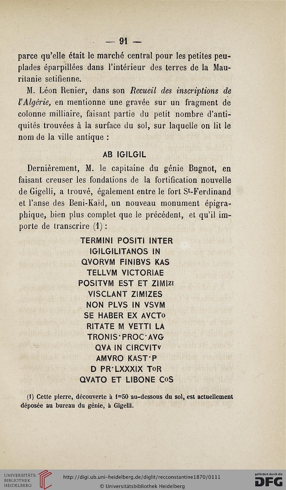 Recueil Des Notices Et Mémoires De La Société Archéologique dedans Chiffres Espagnol 1 À 1000