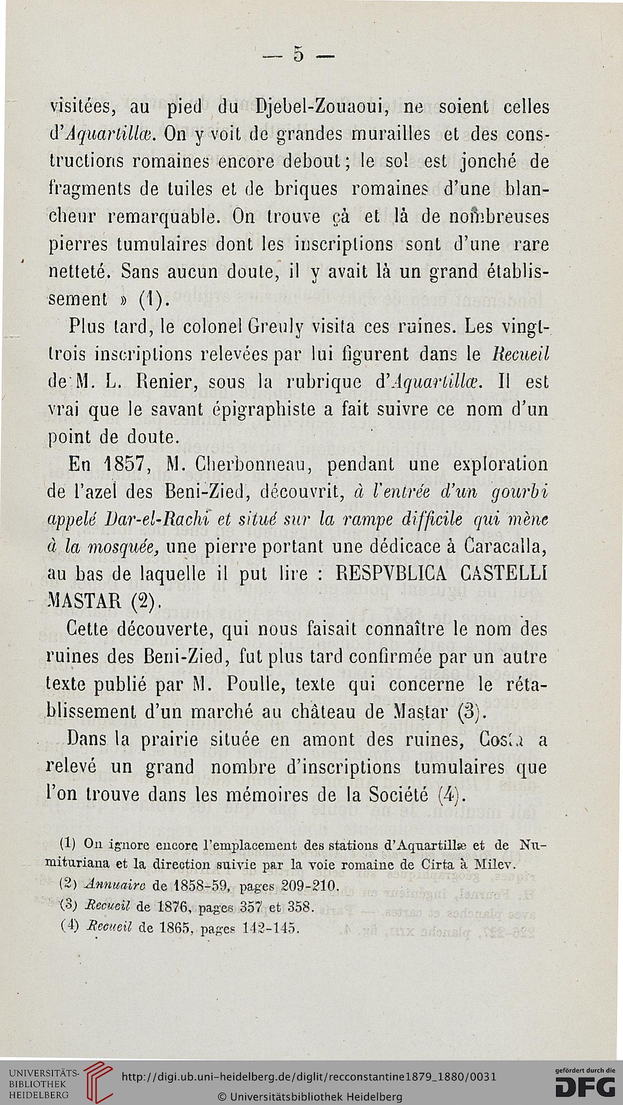 Recueil Des Notices Et Mémoires De La Société Archéologique pour Chiffres Espagnol 1 À 1000