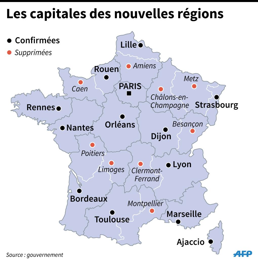 Région, Département, Commune : Qui S'occupe De Quoi tout Nouvelle Carte Des Régions De France