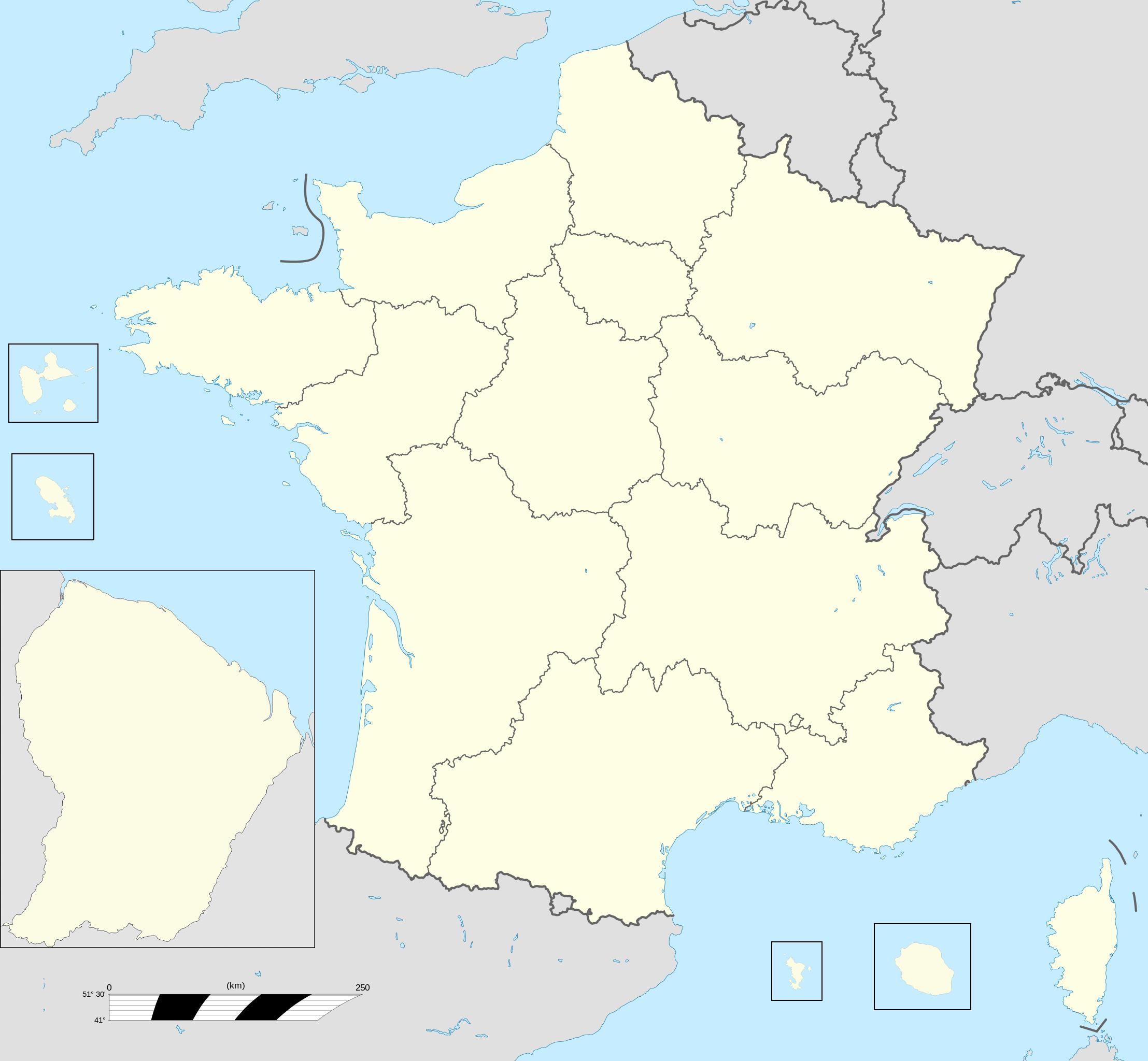 Regions Of France - Wikipedia à Nouvelle Carte Des Régions De France