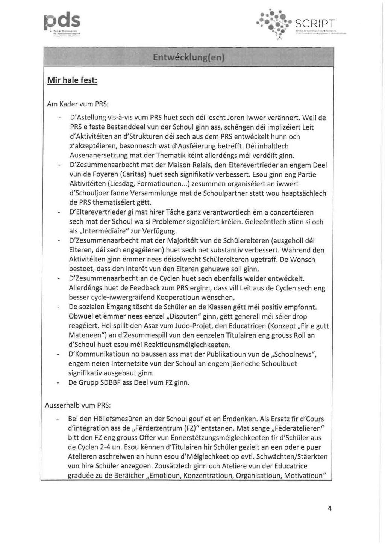 Rëmelenger Calepin. Bulletin Communal Édité Par Le Collège à Police Script Ecole