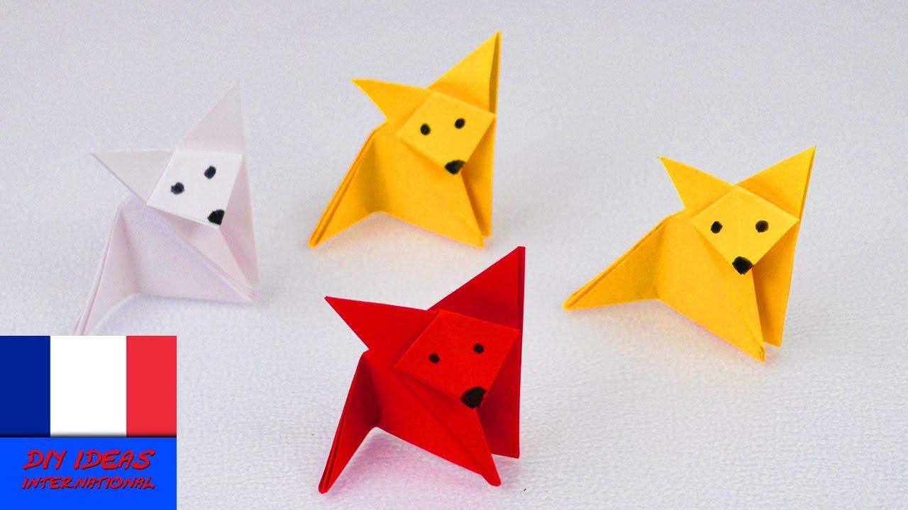Renard En Pliage | Origami Fox | Super Simple & Super Mignon | Idée  Bricolage encequiconcerne Origami Facile A Faire En Français