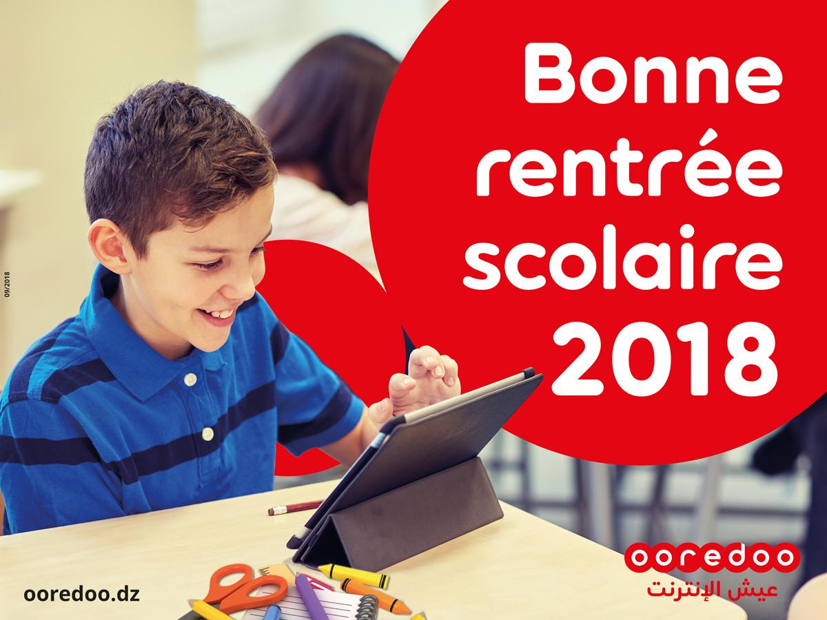 Rentrée Scolaire 2018/2019: Ooredoo Souhaite Une Bonne dedans Image Bonne Rentrée Des Classes