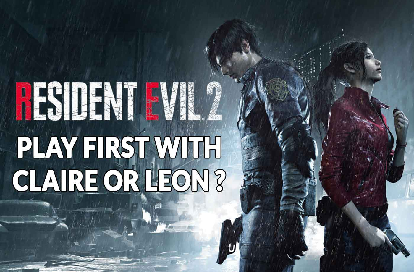 Resident Evil 2 Remake Which Character To Choose First, Leon avec Jeux Des Differences Gratuit