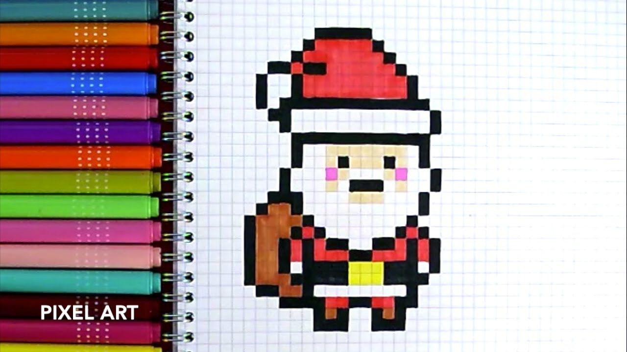 """Résultat De Recherche D'images Pour """"pixel Art Spécial Noël serapportantà Pixel Art Pere Noel"""