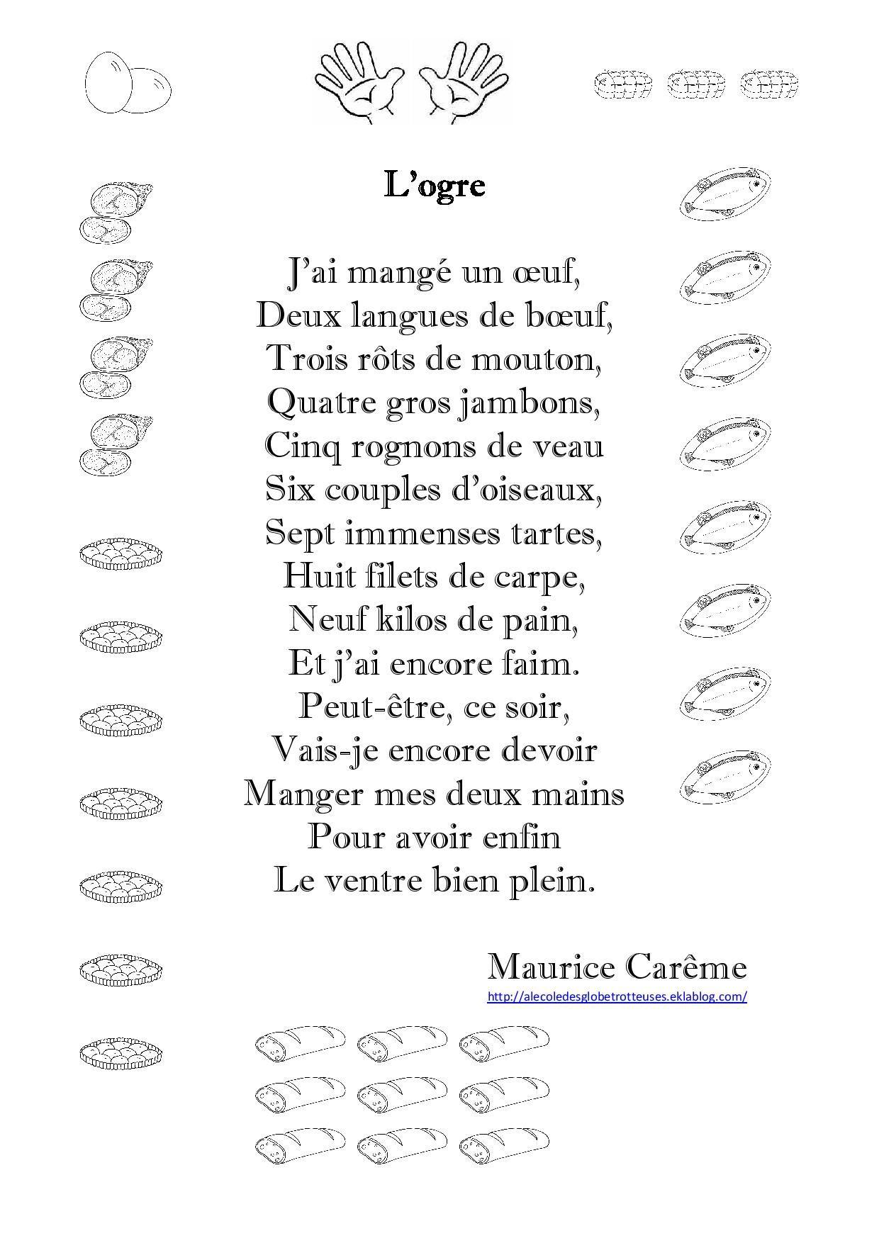 Résultats De Recherche D'images Pour « Ogre Maurice Careme à Mars De Maurice Careme A Imprimer