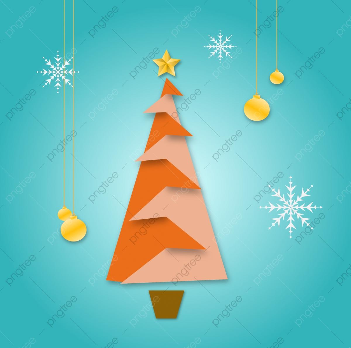Résumé Le Sapin De Noël Créatif Style Origami, Noël, Arbre destiné Origami Sapin De Noel