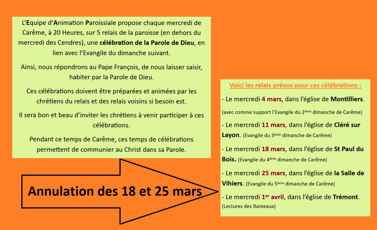 Rétrospectives Paroissiales (Autres Que Les Offices pour Mars De Maurice Careme A Imprimer