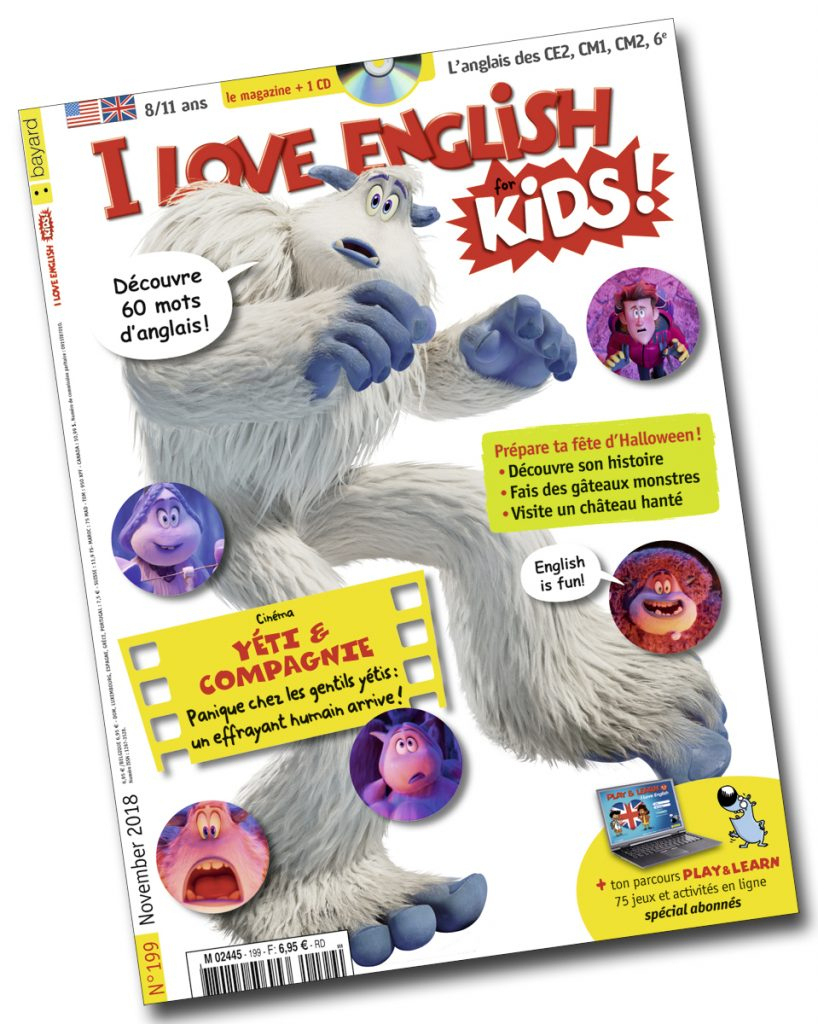 Réussis Ta Fête D'halloween Avec I Love English For Kids 199 dedans Halloween Ce2