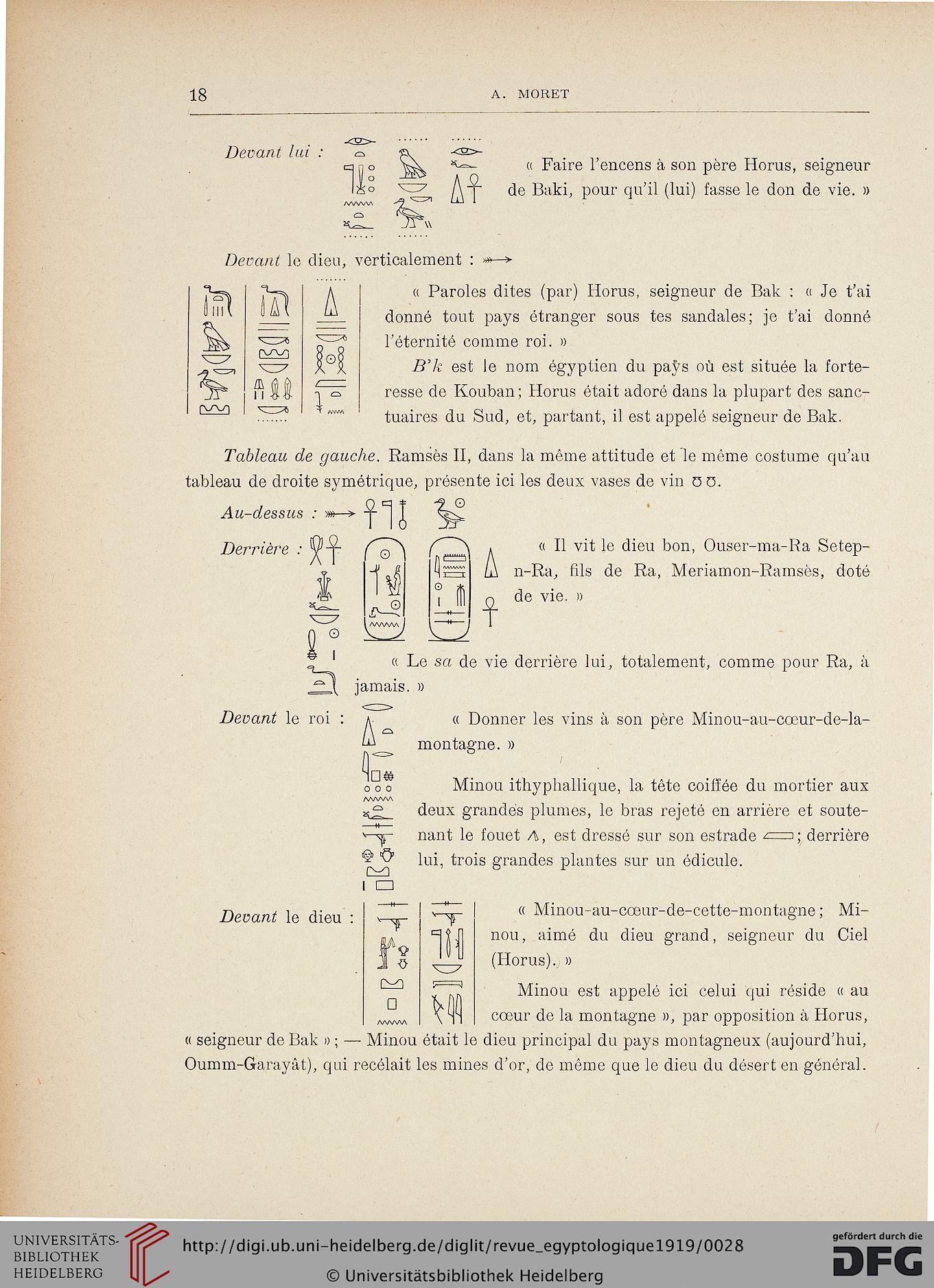Revue Égyptologique (N.s.1.1919) pour Poeme Voeux Nouvel An