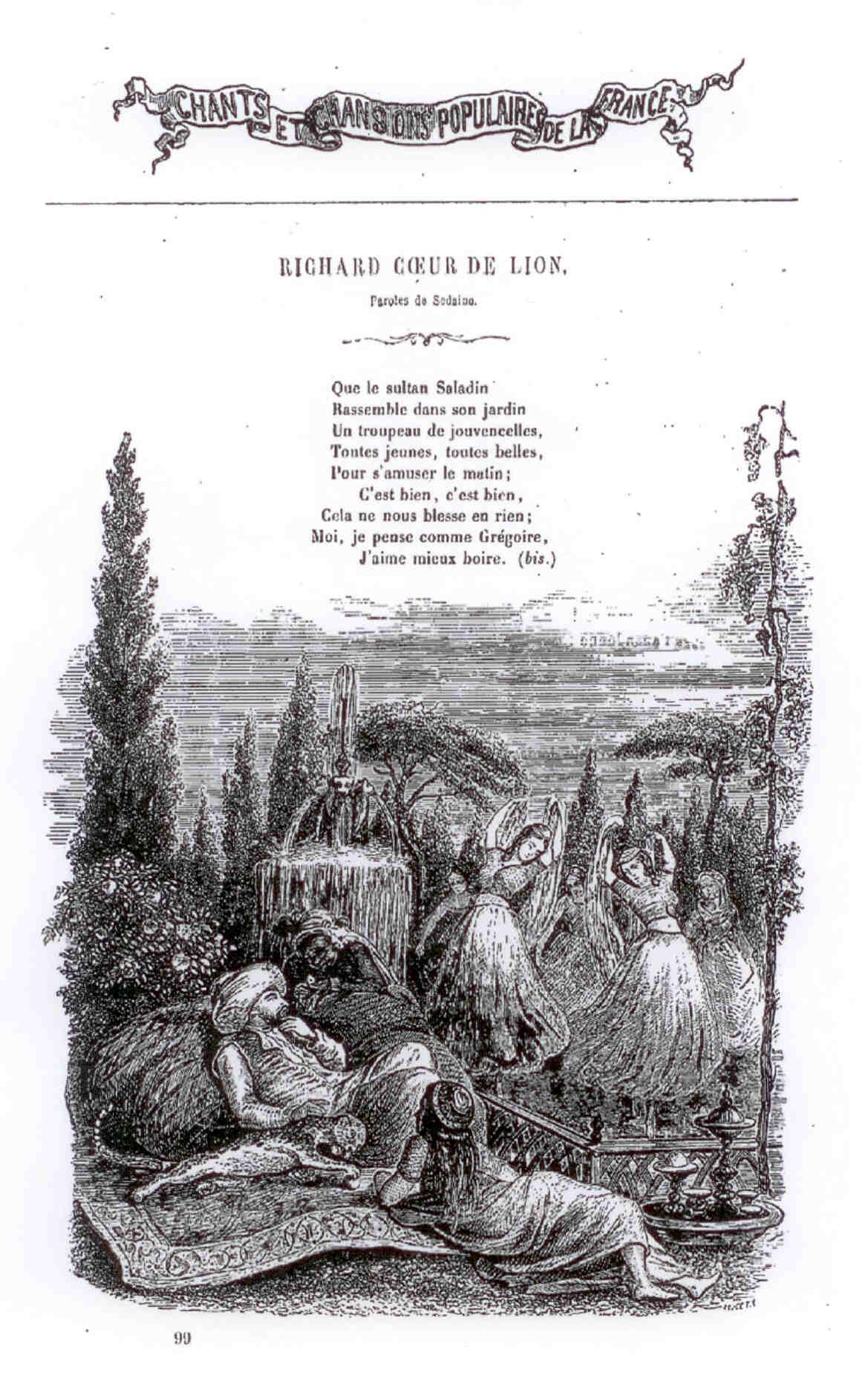 Richard Cœur De Lion – Wikipedia intérieur Chanson Pense À Moi
