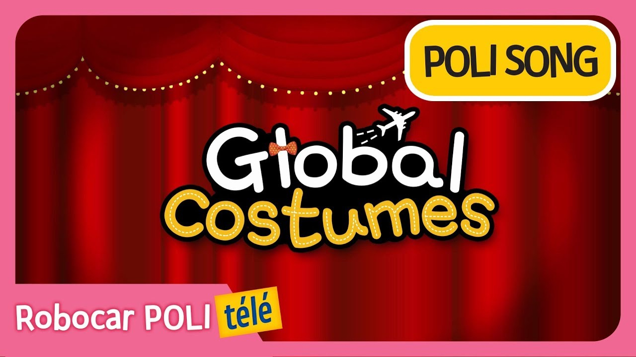 Robocar Poli | Costumes Mondiaux | Chansons Pour Enfants serapportantà Chanson Robocar Poli