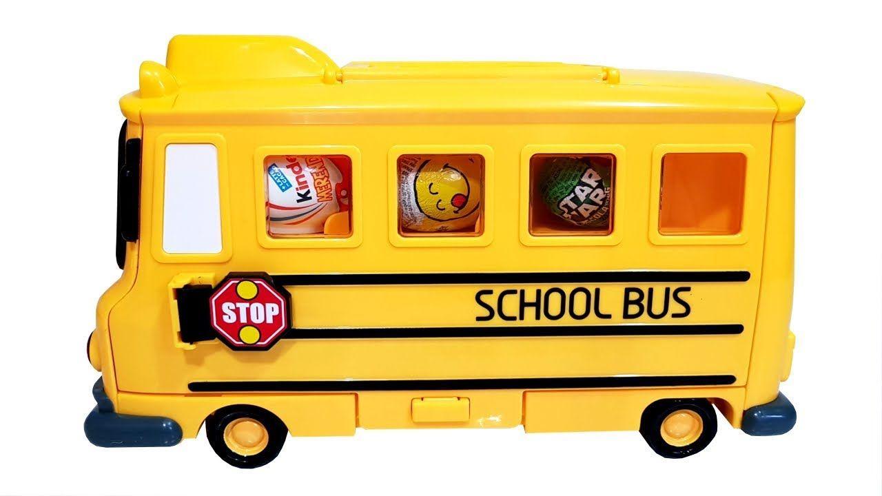 Robocar Poli Toto Bus Surprise Eggs Blind Bags Wheels On The serapportantà Chanson Robocar Poli