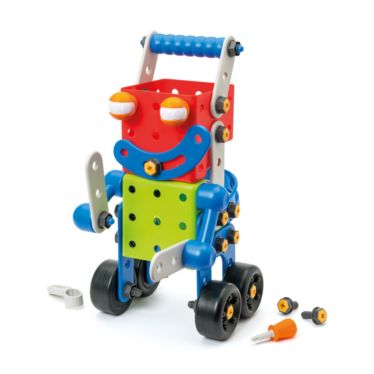 Robot Build It Géant 81 Pièces intérieur Jeux Pour Enfant De 3 Ans