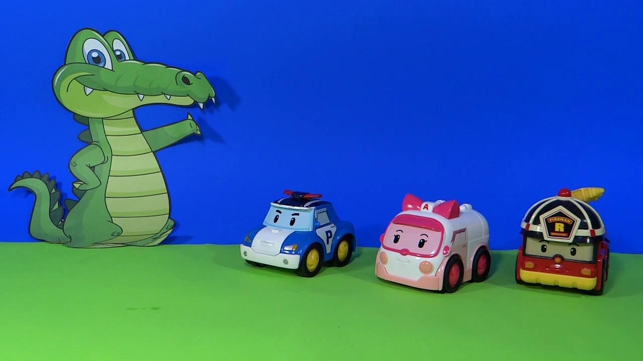 Robot Car Polly En Francais - Les Robocar Poli Chantent La Chanson Des  Crocodiles concernant Chanson Robocar Poli