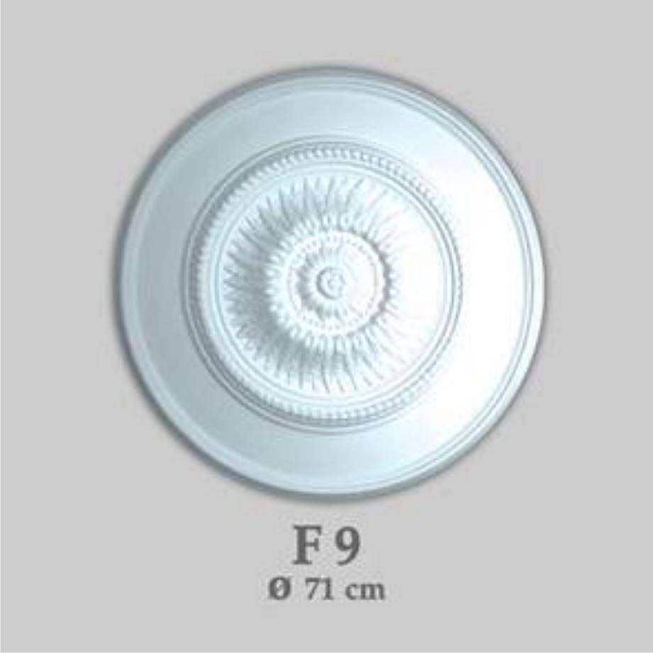 Rosace F 09 - Rosace En Polystyrène D=71 Cm pour Image De Rosace