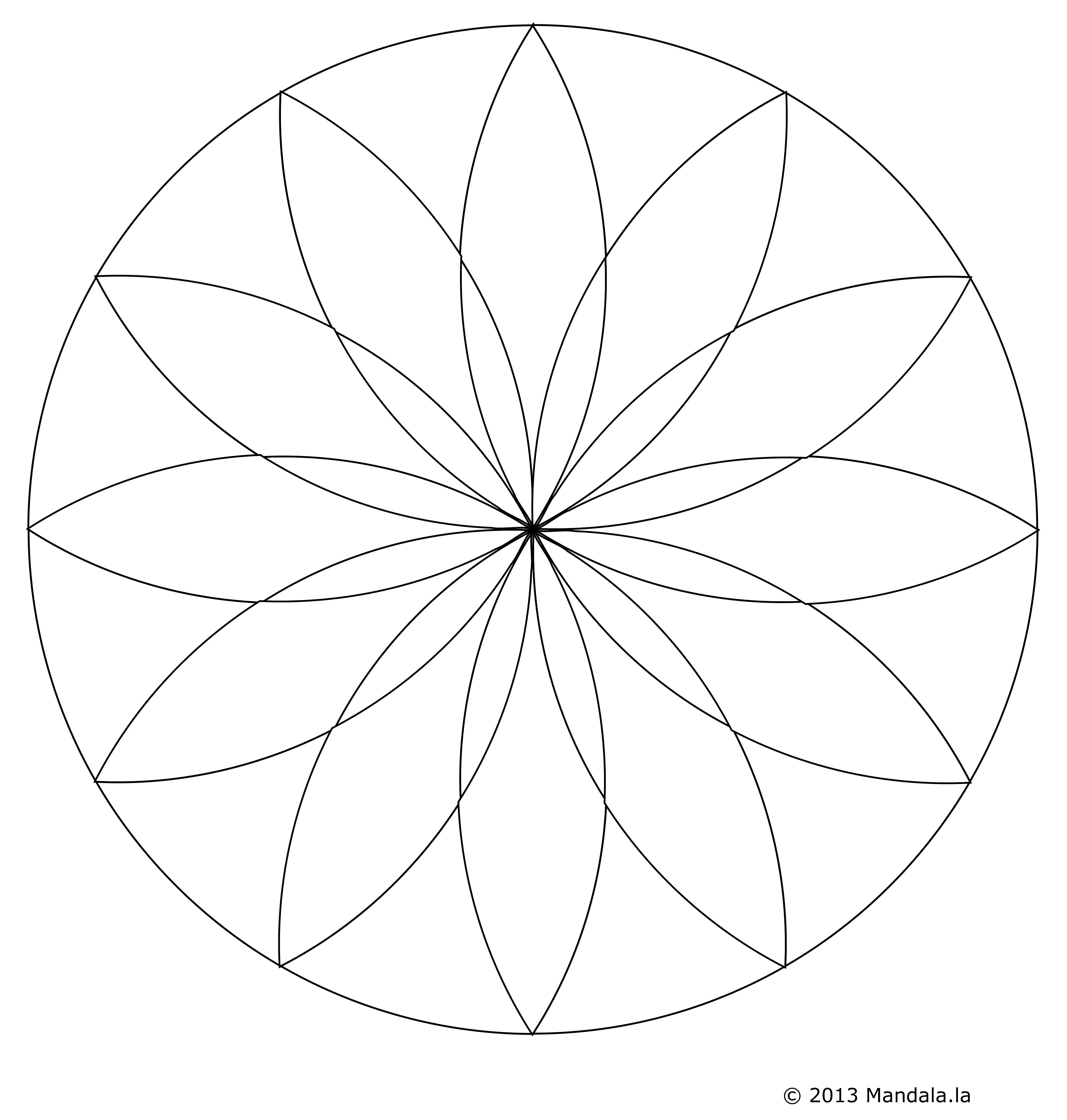 Rosace Png 9 » Png Image destiné Image De Rosace