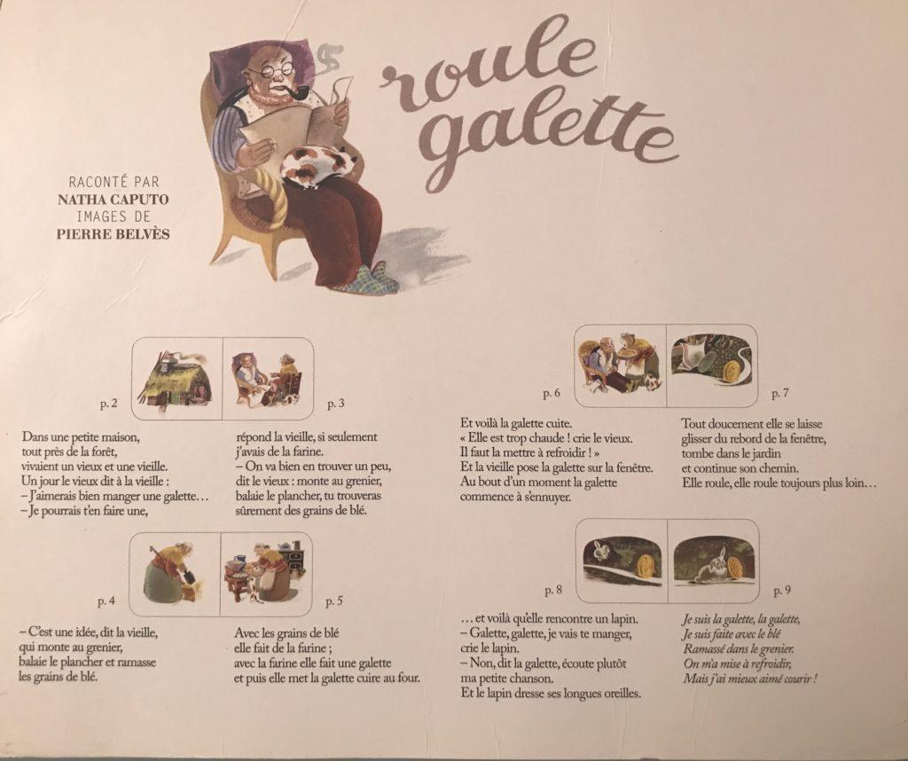 Roule Galette - Dans Les Yeux De Louise pour Histoire Roule Galette