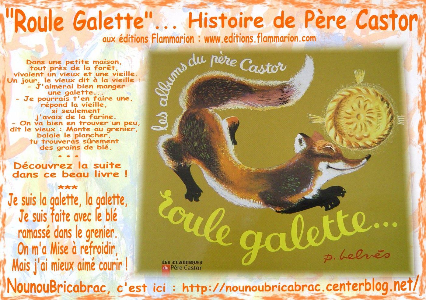 Roule Galette Histoire De Père Castor dedans Histoire Roule Galette