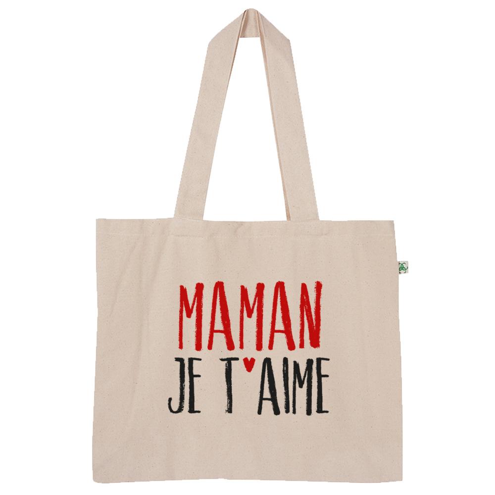 "Sac ""maman Je T'aime"" pour Texte Maman Je T Aime"