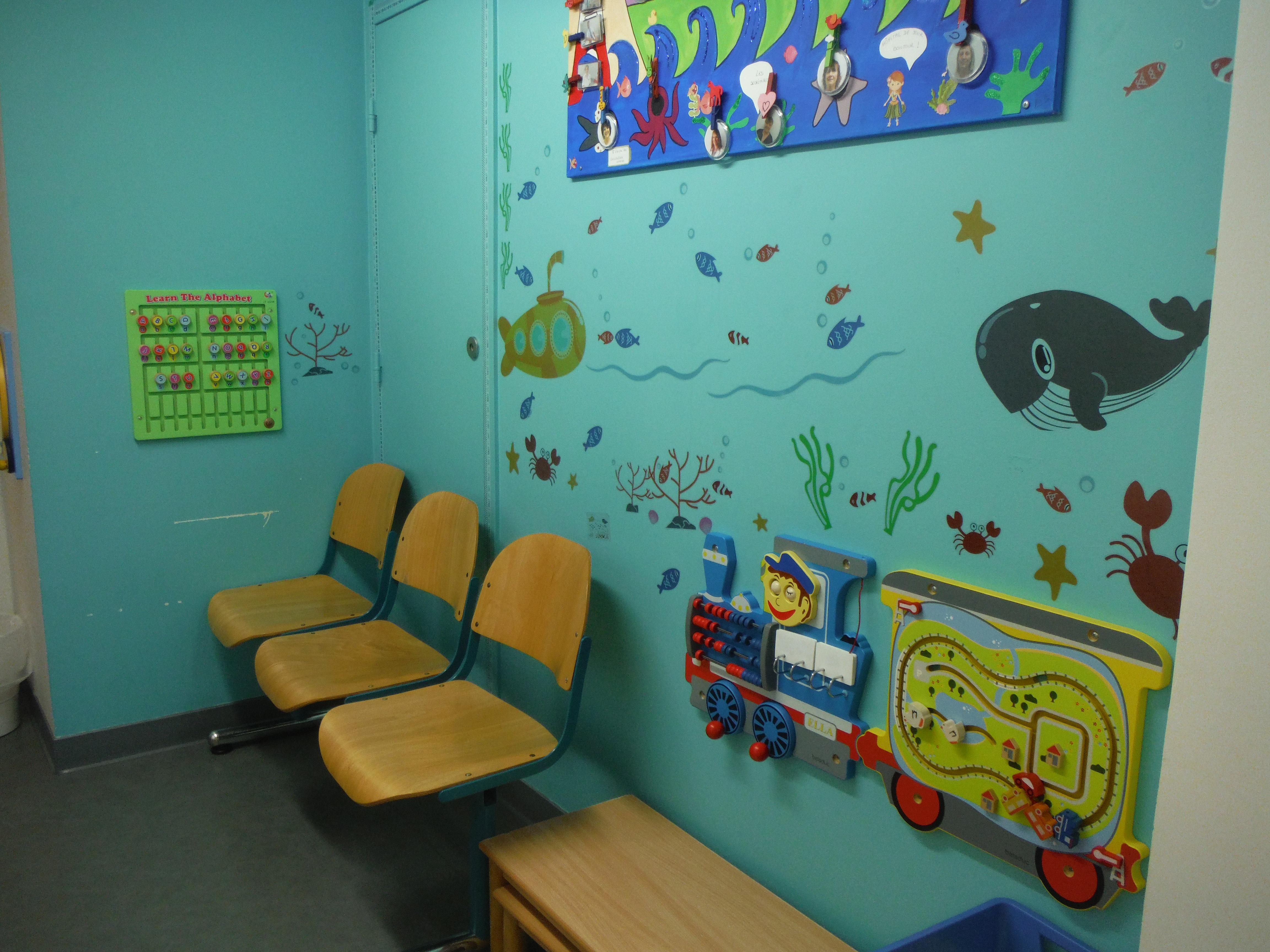 Salle D'attente D'un Hôpital : Les Jeux Muraux L'îlot dedans Jeux De Lettres Enfants