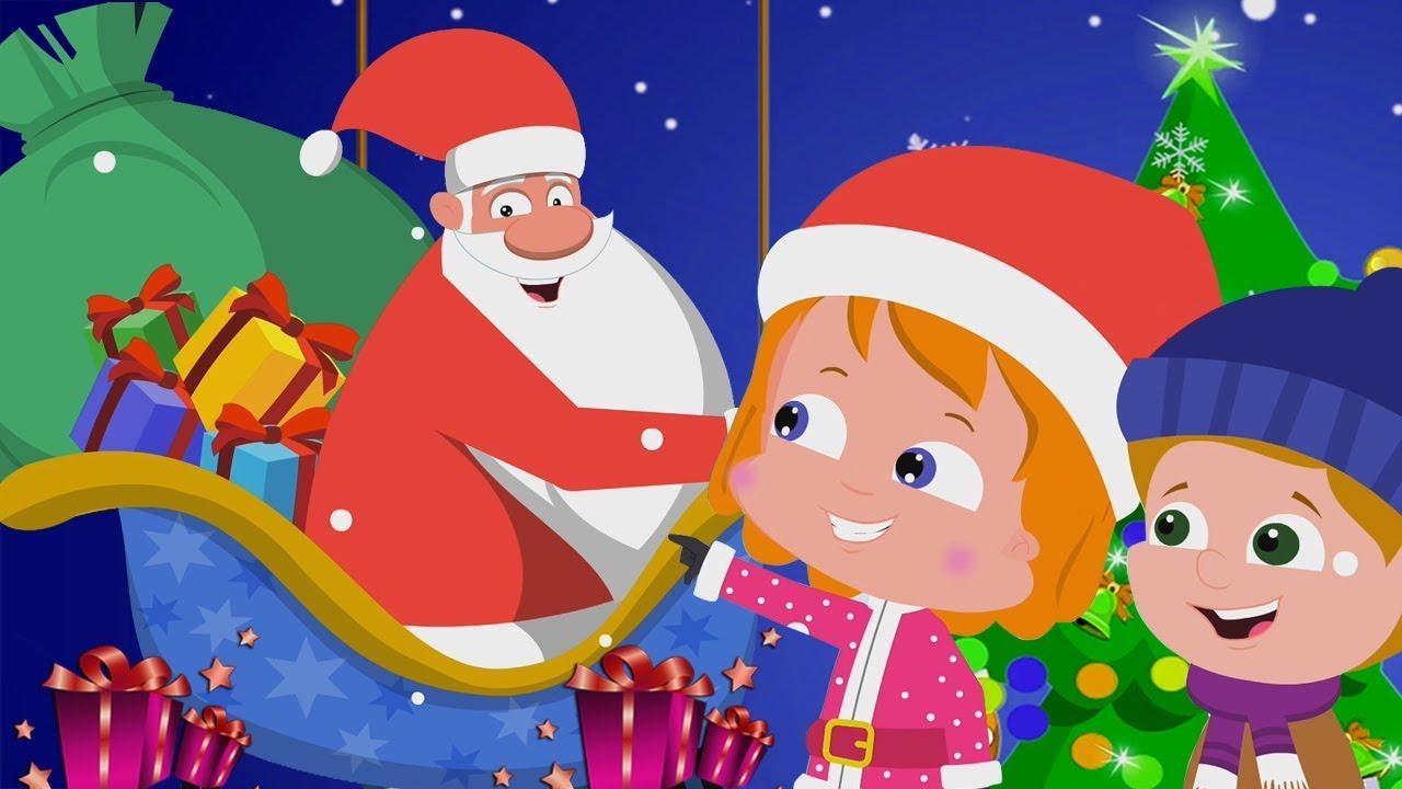 Santa Down La Cheminée | Noël Chanson Pour Enfants | Joyeux Noël | Santa  Down The Chimney intérieur Chanson De Noel En Chinois