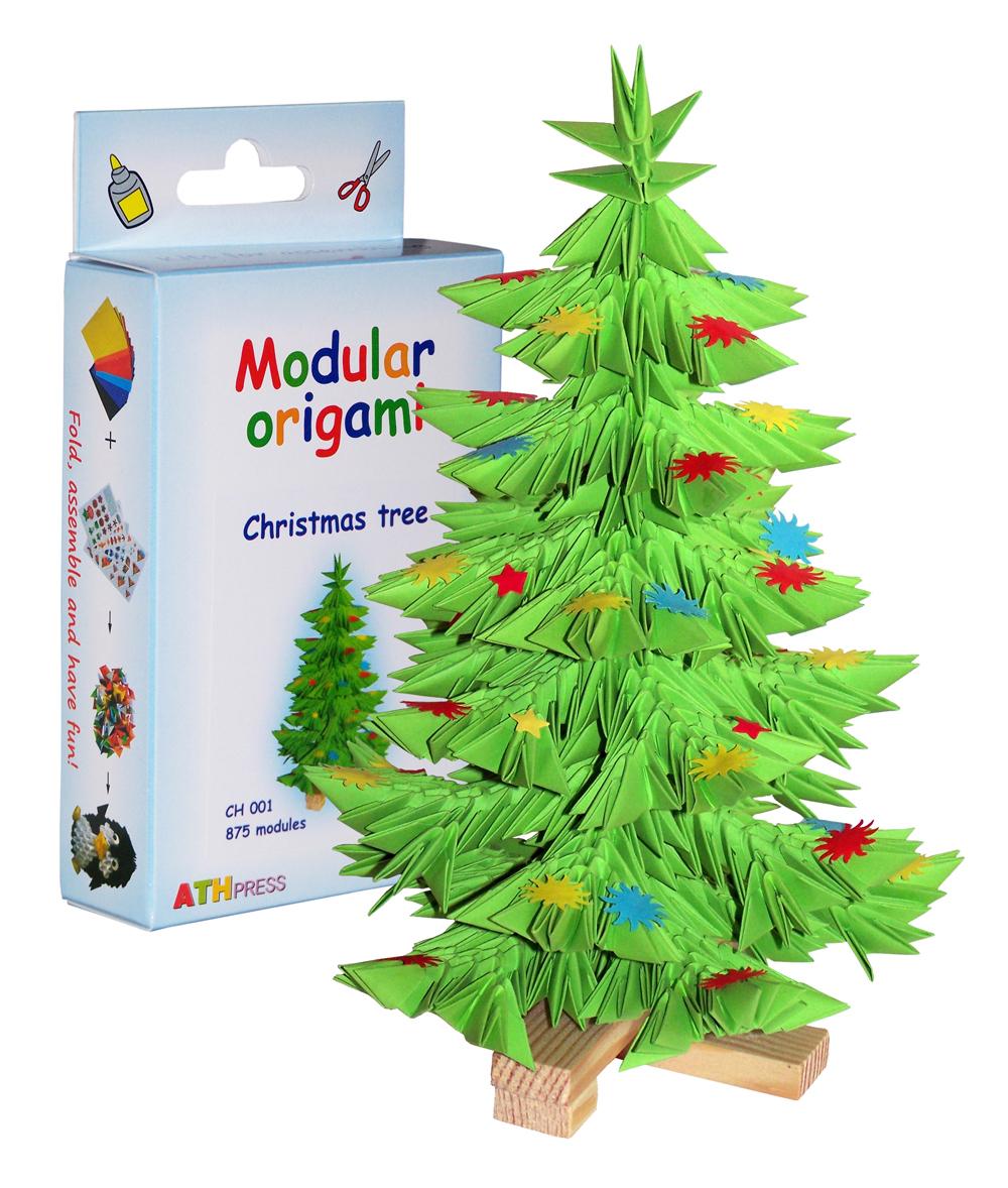 Sapin De Noël - 875 Modules dedans Origami Sapin De Noel