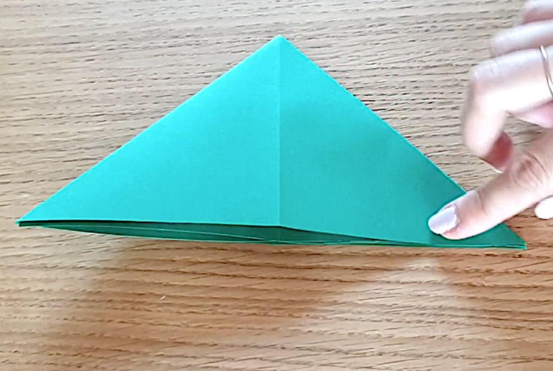 Sapin De Noël En Origami, Pliage Papier [Video] dedans Origami Sapin De Noel