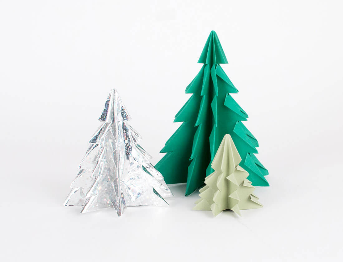 Sapin De Noël Origami : Le Tuto Beau Et Facile - My Little concernant Origami Sapin De Noel