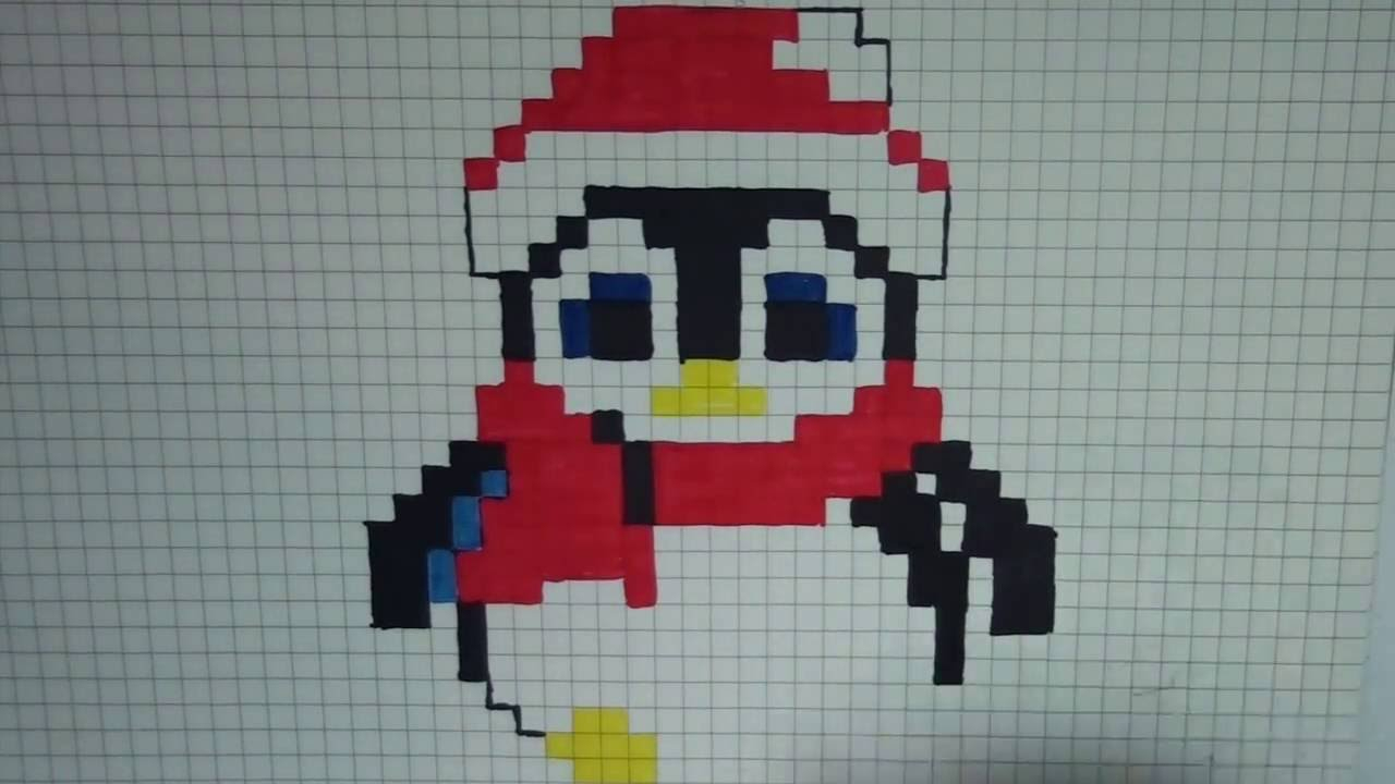 Sapin Pixel Art – Gamboahinestrosa dedans Pixel Art Pere Noel