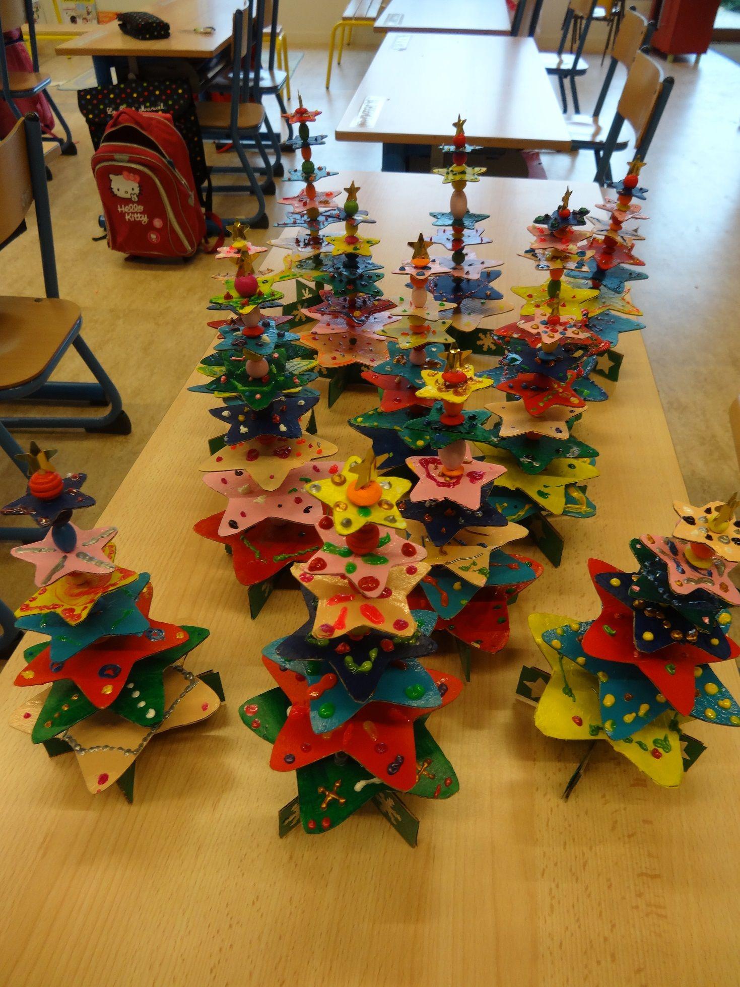 Sapins De Noel | Décoration Noel Maternelle, Bricolage Noel destiné Bricolage De Noel Pour Maternelle