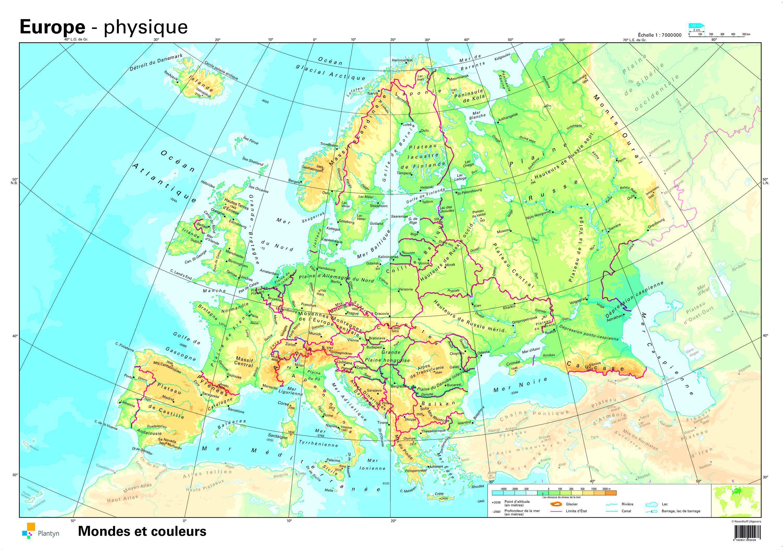 Sardaigne Carte Europe Capitale. dedans Carte Europe Capitale