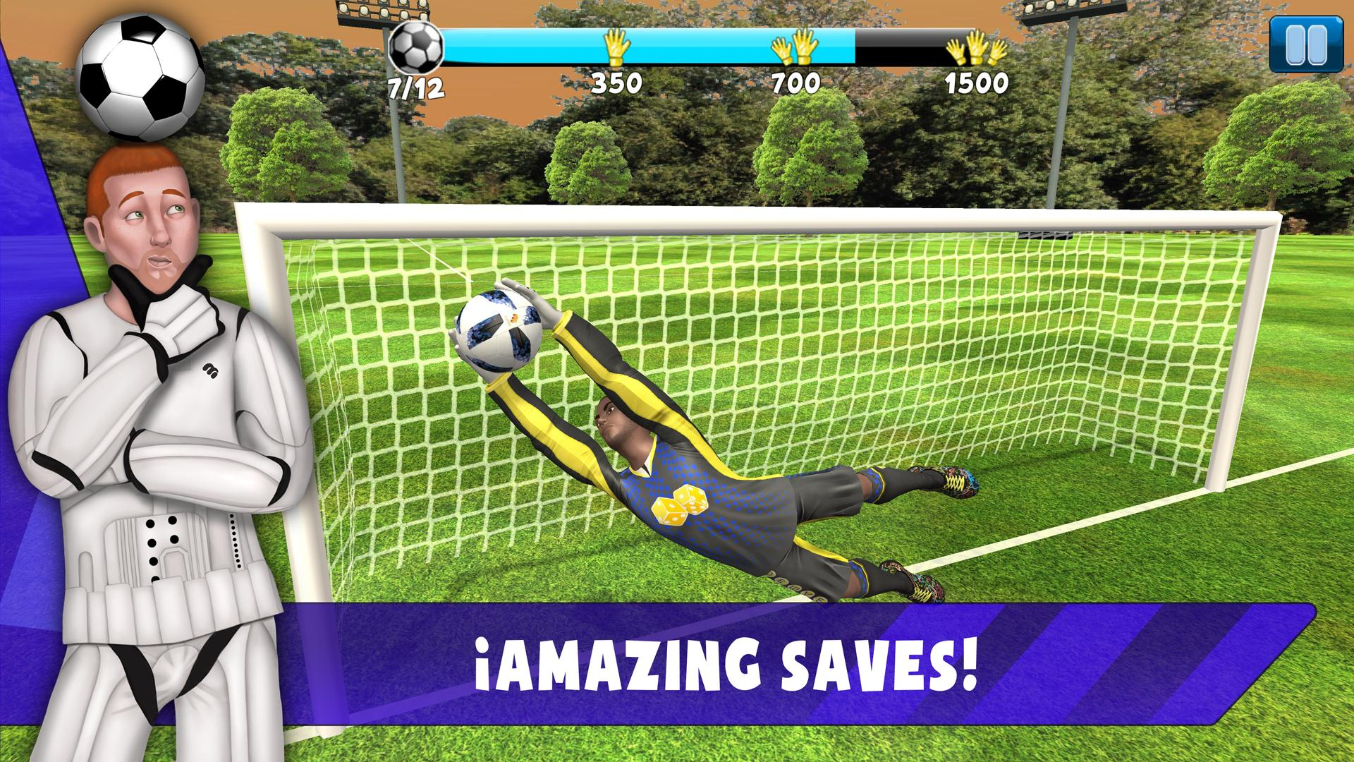 Save! Hero - Gardien De But Jeu Foot 2019 Pour Android serapportantà Jeux De Foot Gardien De But