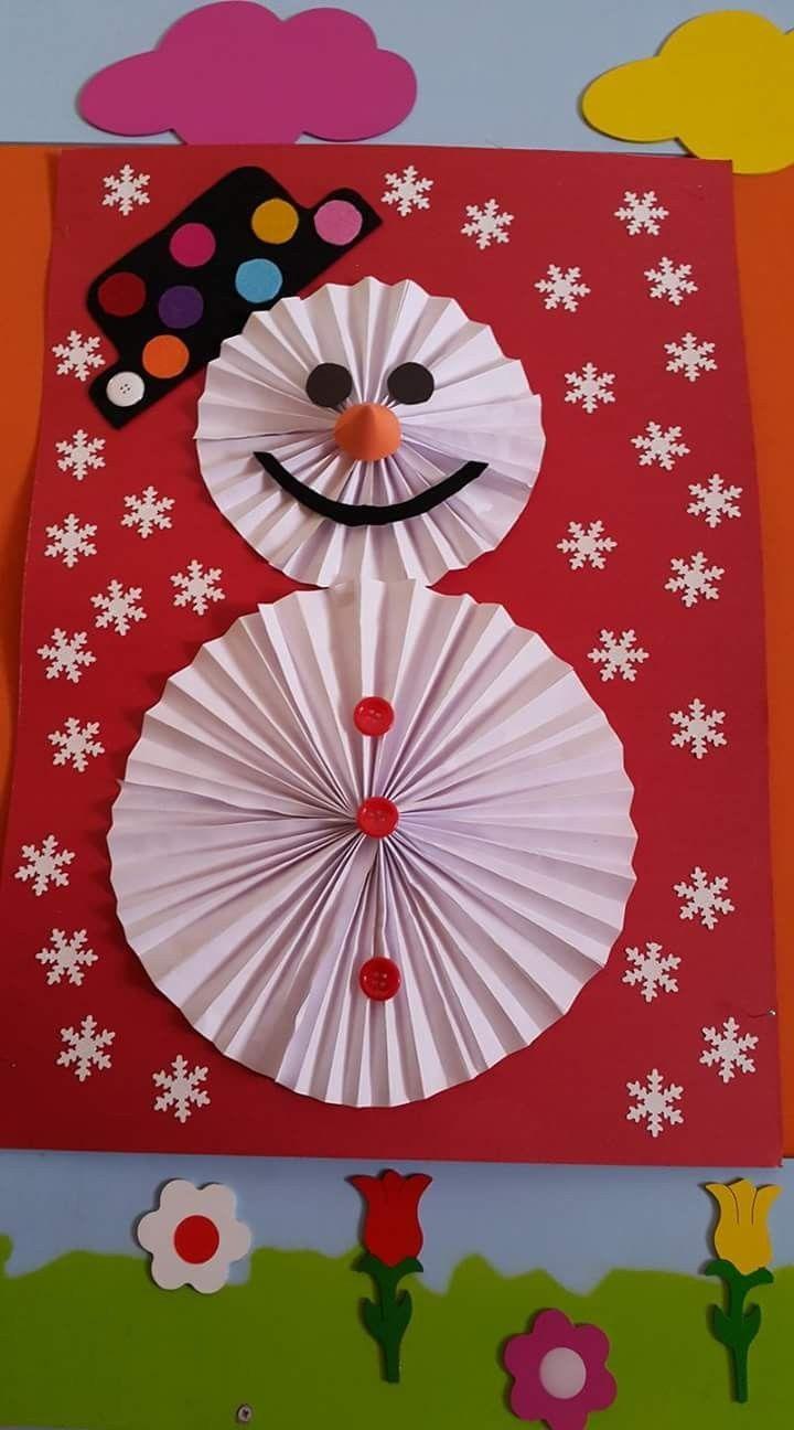 Schneemann. Papier Falten (Mit Bildern) | Weihnachtszeit pour Origami Bonhomme De Neige