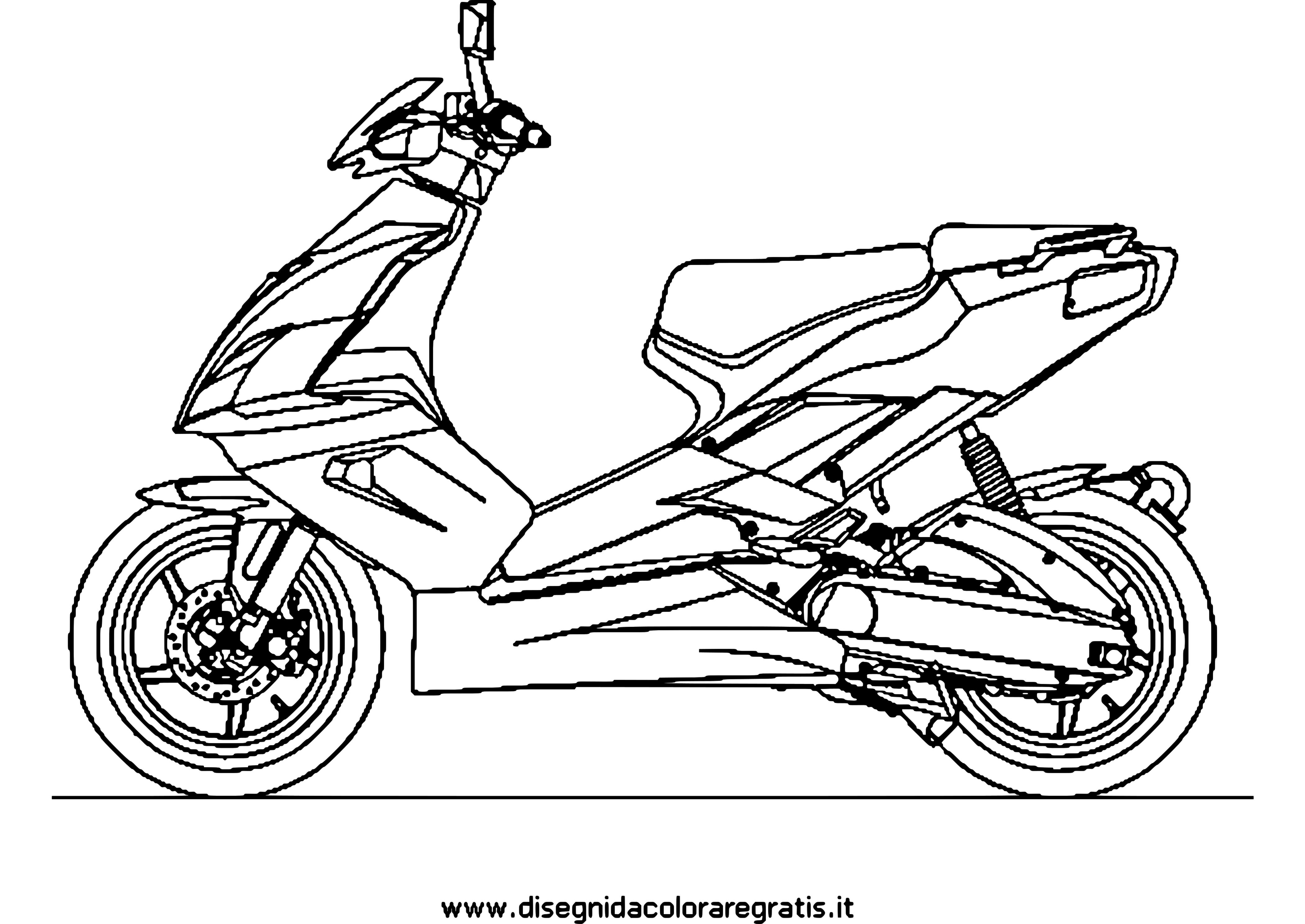 Scooter #12 (Transport) – Coloriages À Imprimer dedans Coloriage Grande Roue