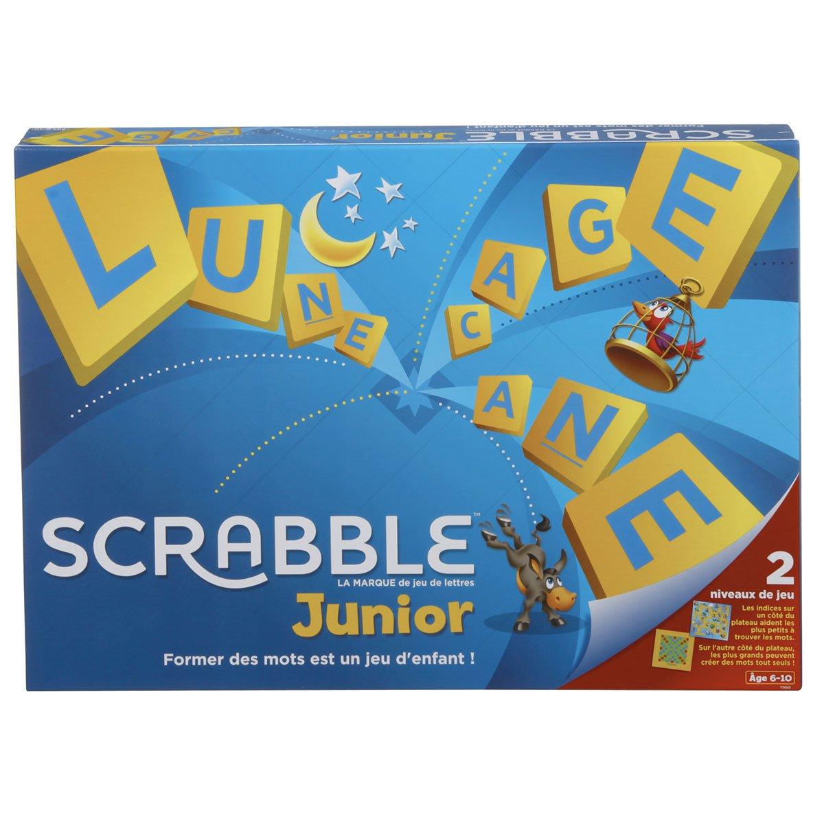 Scrabble Junior avec Jeux De Lettres Enfants