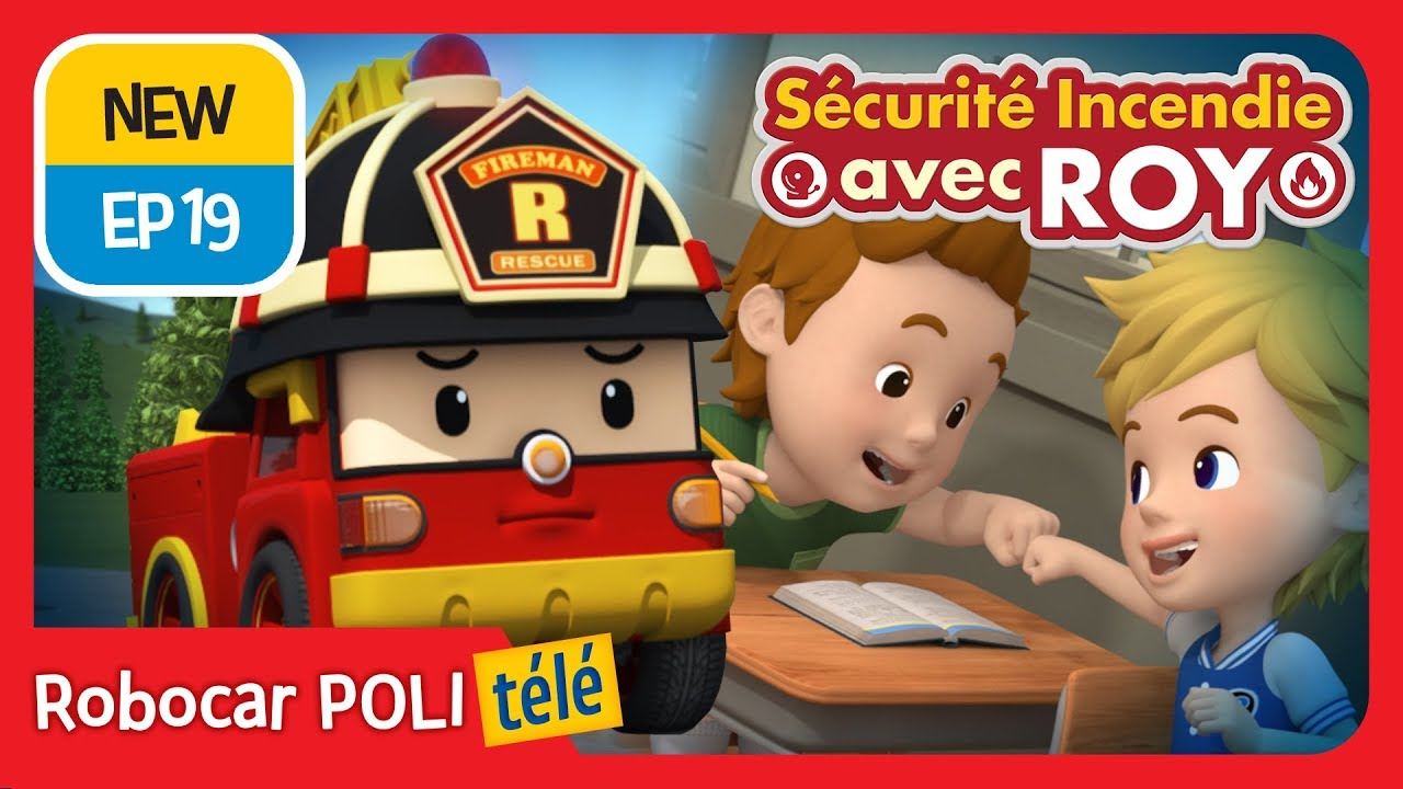 Sécurité Incendie Avec Roy | Ep 19 | Robocar Poli Télé destiné Chanson Robocar Poli