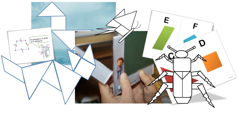 Séquence : Figures Geometriques - Angle Droit Cp / Ce1/ce2 concernant Figures Géométriques Ce1