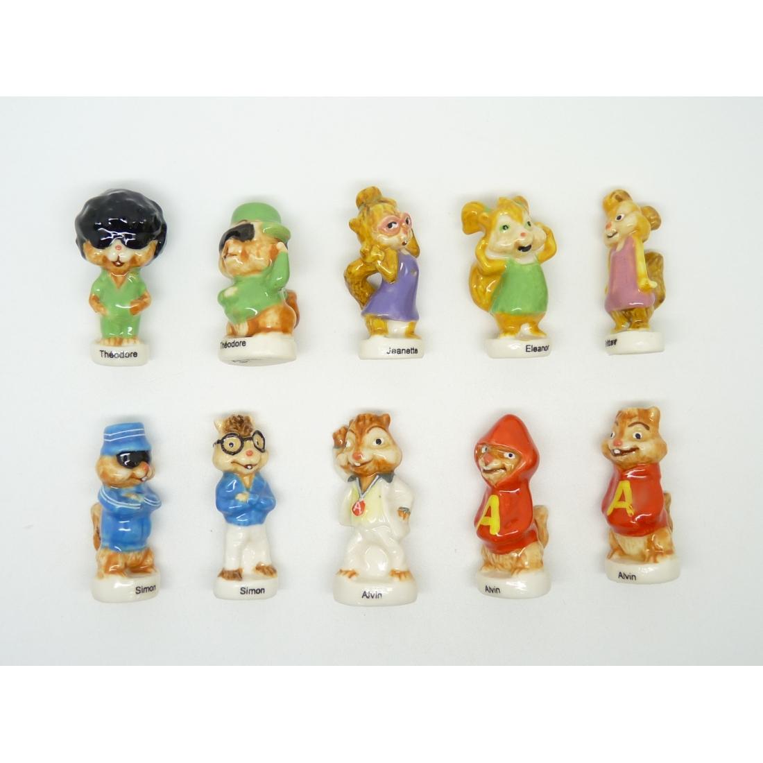 Série Complète De 10 Fèves Alvin Et Les Chipmunks 3 destiné Dessin De Alvin Et Les Chipmunks