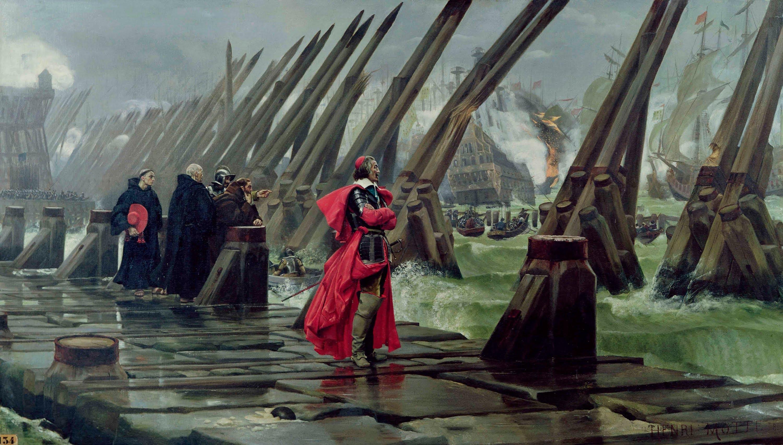 Siège De La Rochelle (1627-1628) — Wikipédia serapportantà On Va Sortir La Rochelle