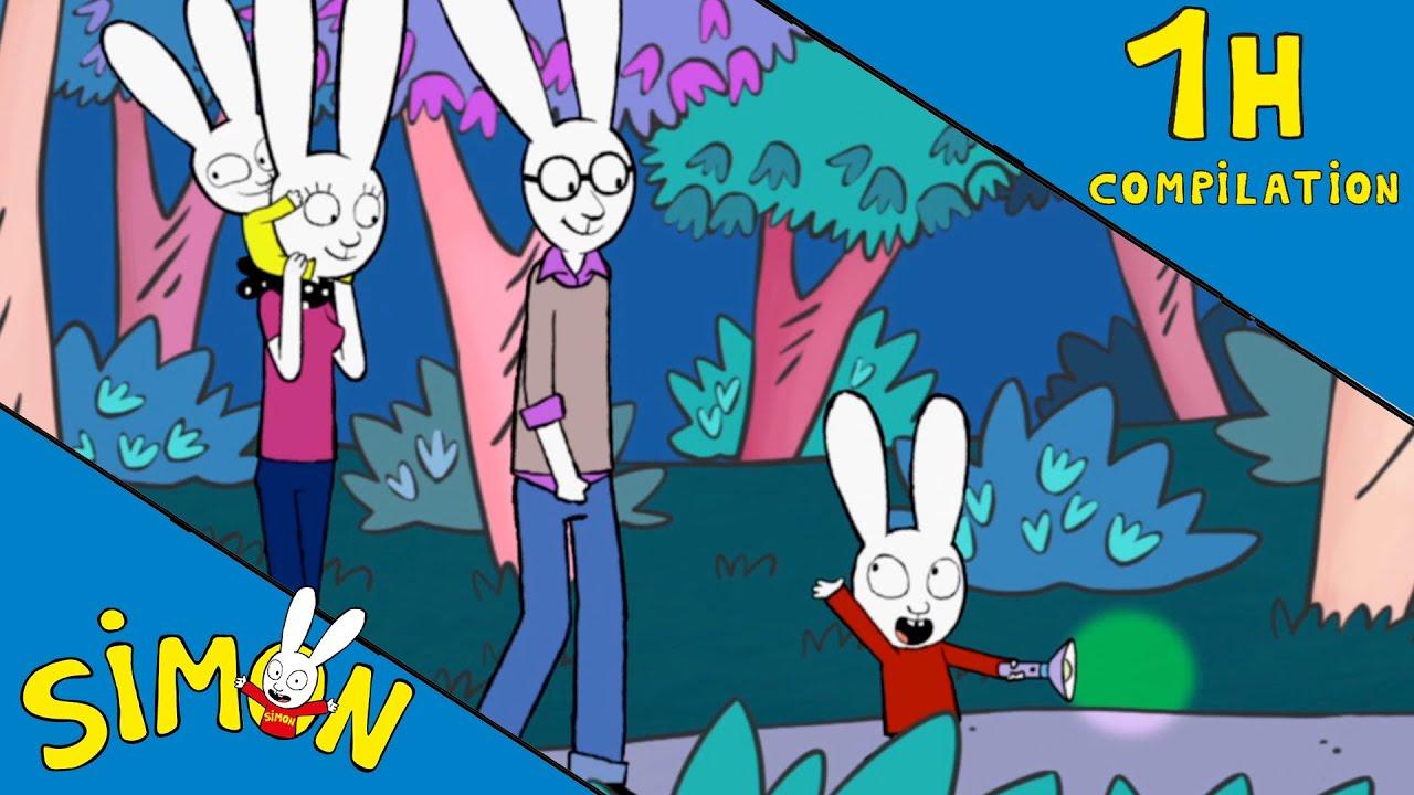 Simon 1 Heure Compilation 🍃 *le Camping* 🌿 Hd [Officiel] Dessin Animé  Pour Enfants intérieur Nouveau Trotro